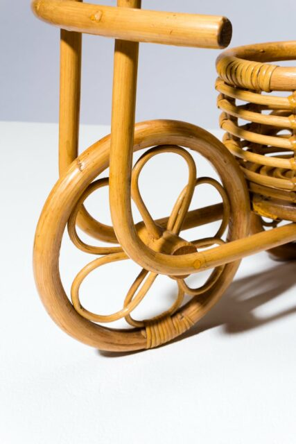 Alternate view 1 of Raz Rattan Plant Holder