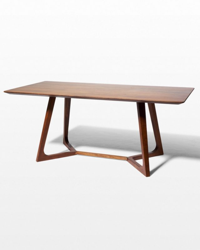 Front view of Axis Dining Table Desk