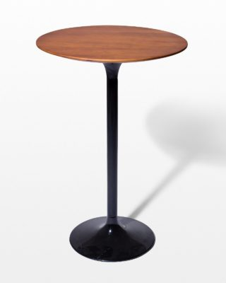 Front view of Cassidy Tulip Bar Table