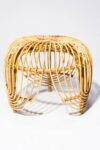 Alternate view thumbnail 3 of Souk Rattan Side Table
