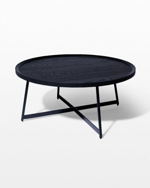 Front view of Astor Round Coffee Table