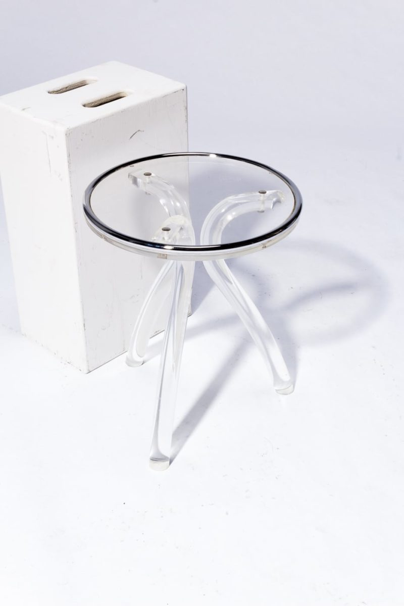 Alternate view 2 of Peek Acrylic Accent Table