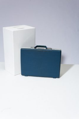 Alternate view 1 of Shelby Blue Briefcase
