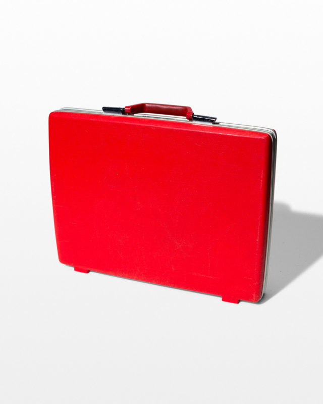 Front view of Gunner Red Briefcase