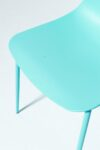 Alternate view thumbnail 4 of Drea Turquoise Chair