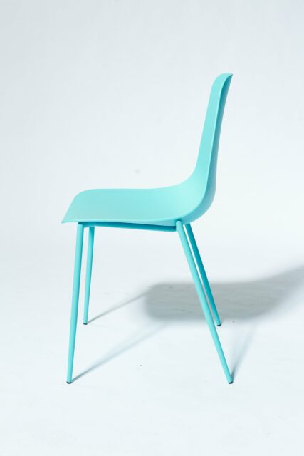 Alternate view 3 of Drea Turquoise Chair