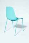 Alternate view thumbnail 2 of Drea Turquoise Chair