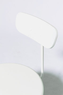 Alternate view 4 of Bergan White Frame Chair