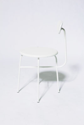 Alternate view 3 of Bergan White Frame Chair