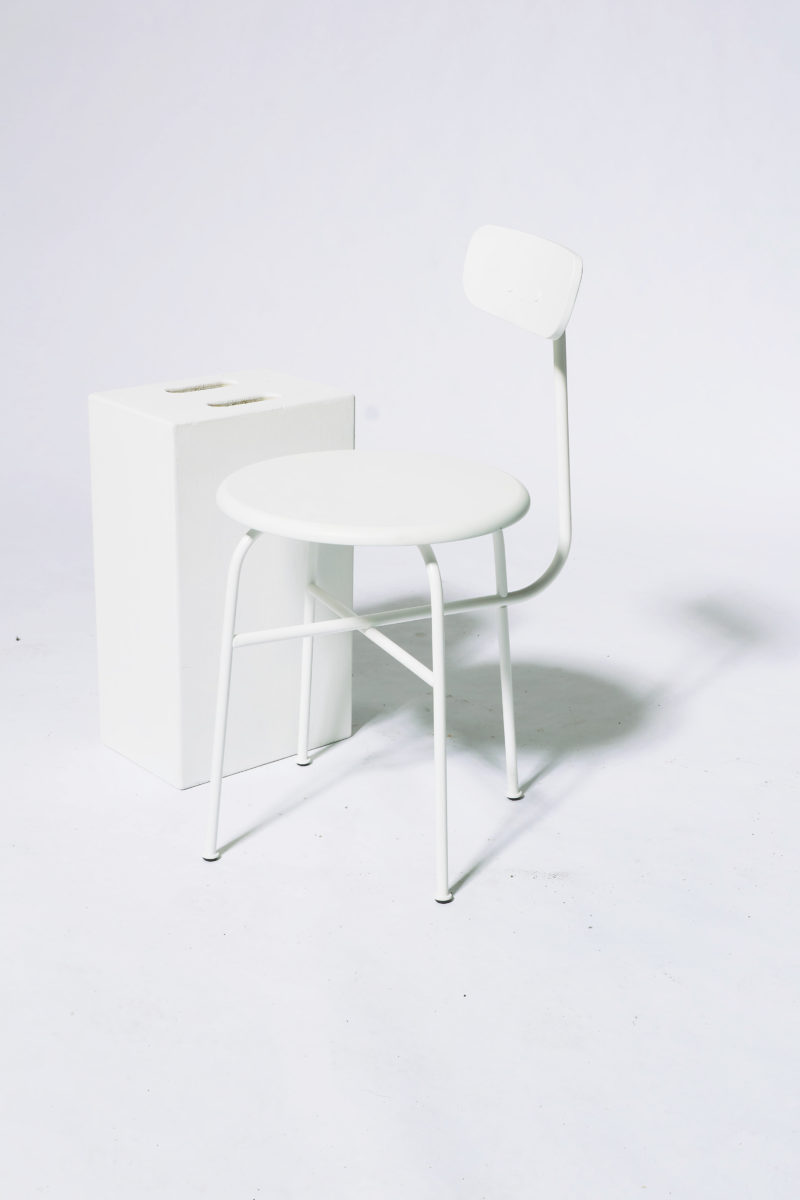 Alternate view 1 of Bergan White Frame Chair
