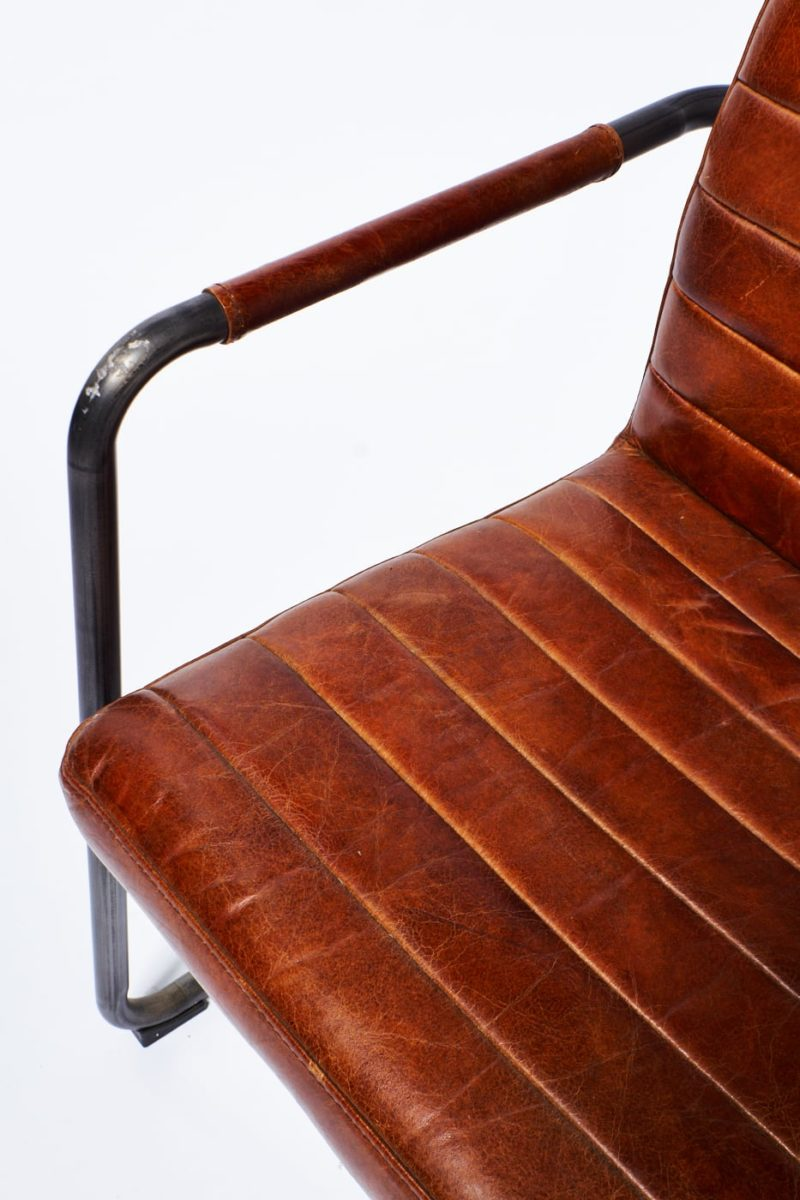 Alternate view 4 of Boro Cantilevered Leather Chair