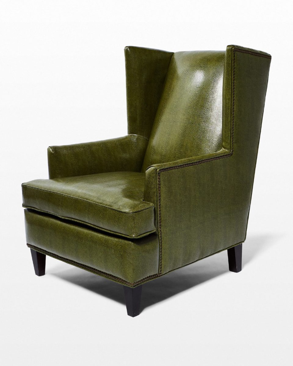 Front view of Briggs Armchair
