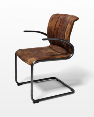 Front view of Bruno Cantilever Chair