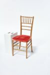 Alternate view thumbnail 3 of Adriana Gold and Pink Chiavari Chair