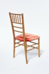 Alternate view thumbnail 2 of Adriana Gold and Pink Chiavari Chair
