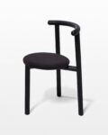 Front view thumbnail of Steel And Coal Tripod Chair