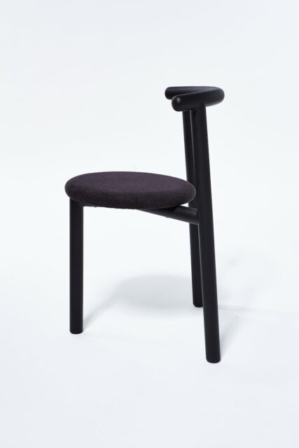 Alternate view 1 of Steel And Coal Tripod Chair