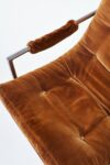 Alternate view thumbnail 4 of Decker Camel Velvet Lounge Chair