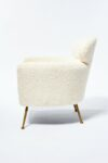 Alternate view thumbnail 1 of Cora Shearling Armchair