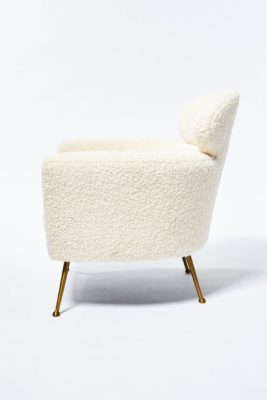 Alternate view 1 of Cora Shearling Armchair