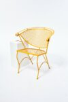 Alternate view thumbnail 4 of Carson Wrought Iron Barrel Back Chair