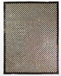 Front view thumbnail of Tannery Checker Hide 9' x 12' Rug
