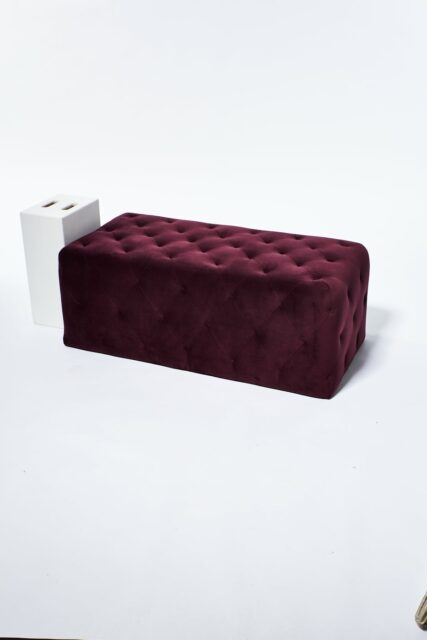 Alternate view 4 of Petal Plum Purple Ottoman