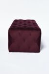 Alternate view thumbnail 1 of Petal Plum Purple Ottoman