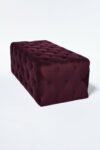 Alternate view thumbnail 2 of Petal Plum Purple Ottoman