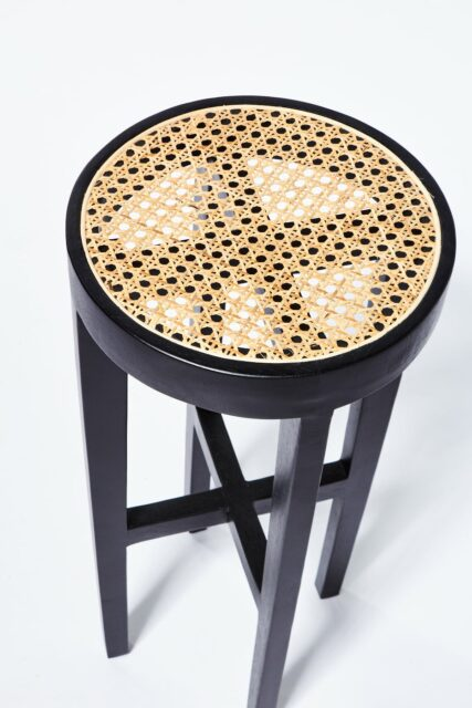 Alternate view 2 of Powell Caned Stool