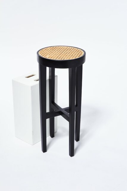 Alternate view 3 of Powell Caned Stool