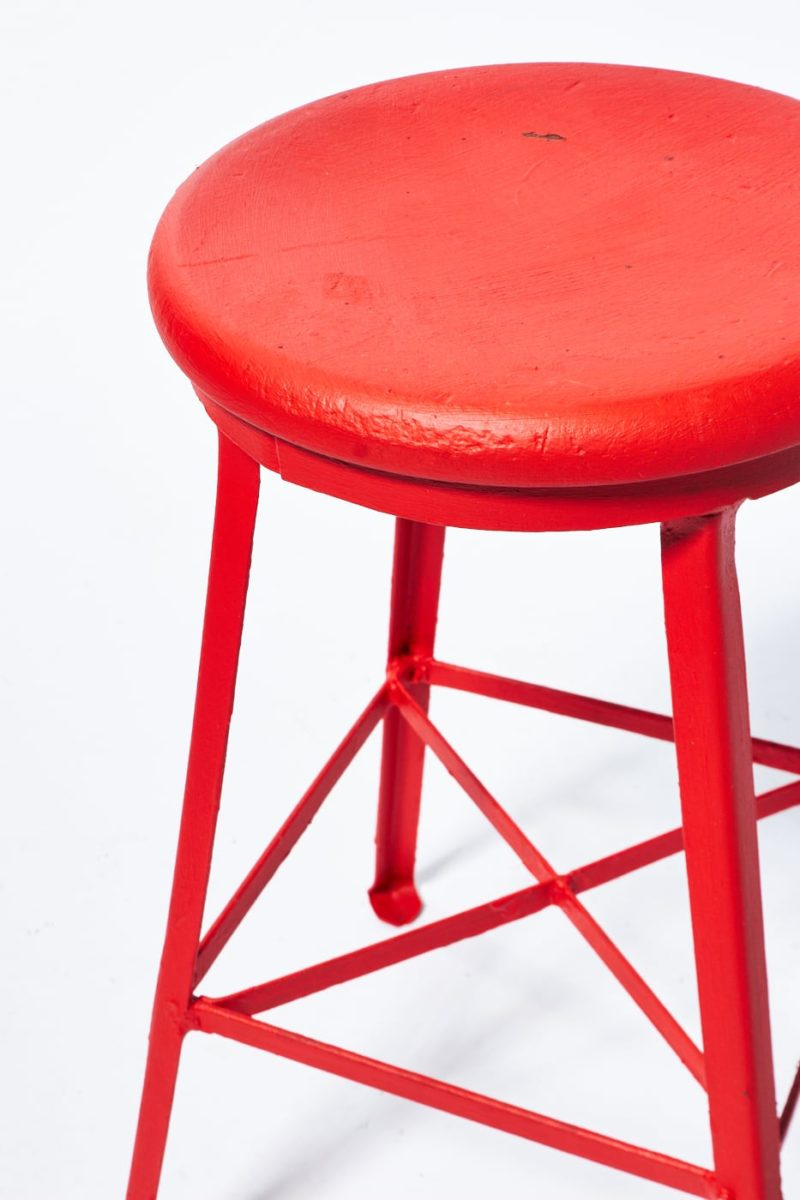 Alternate view 2 of Paintable Everett Industrial Stool