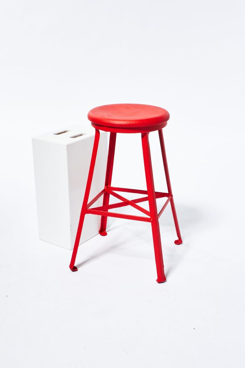 Alternate view 3 of Paintable Everett Industrial Stool