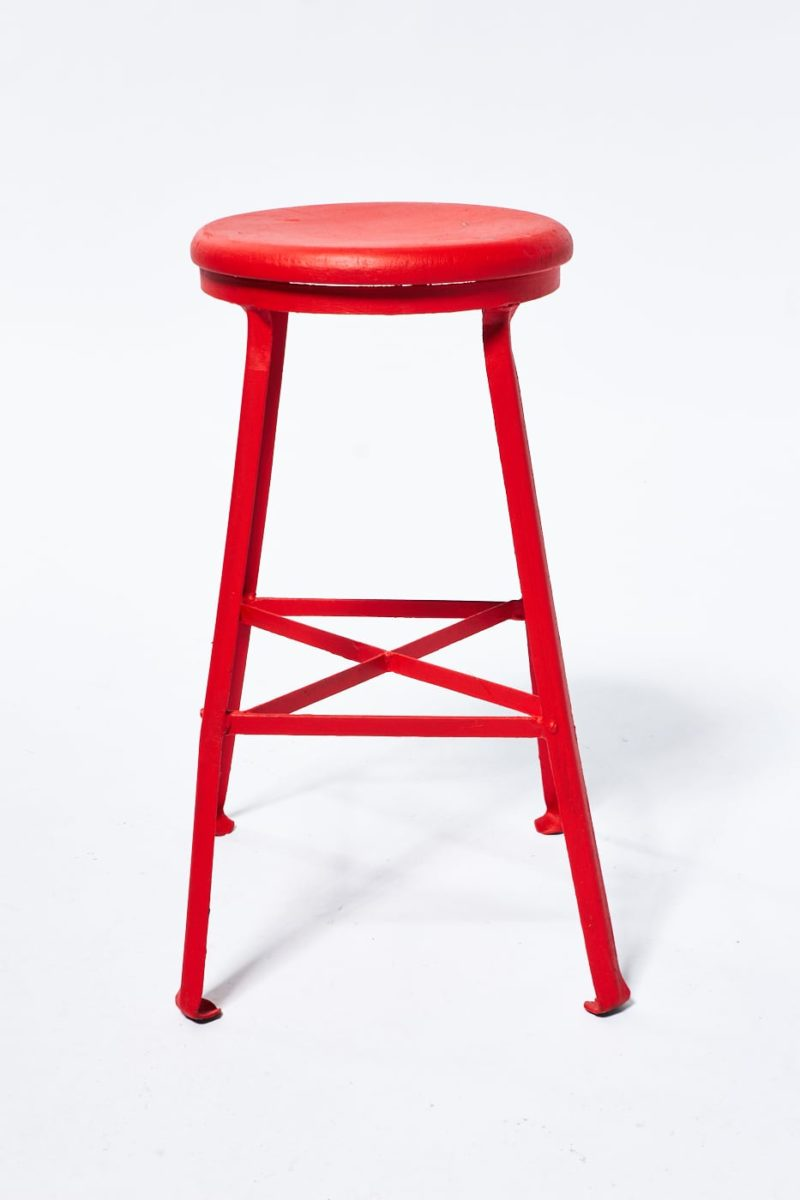 Alternate view 1 of Paintable Everett Industrial Stool
