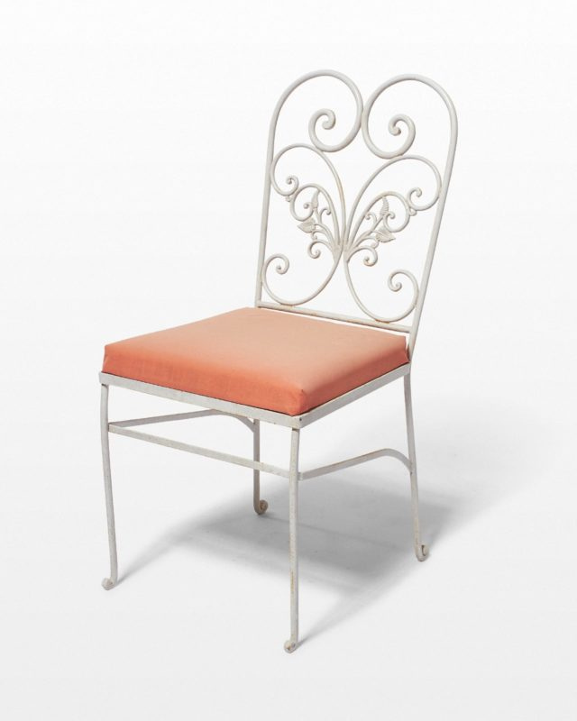 Front view of Carnation Chair