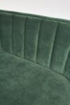 Alternate view thumbnail 1 of Leif Moss Green Velvet Loveseat