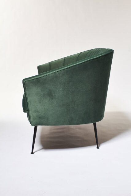 Alternate view 2 of Leif Moss Green Velvet Loveseat