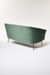 Alternate view thumbnail 3 of Leif Moss Green Velvet Loveseat