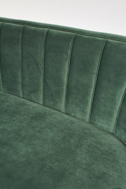 Alternate view 1 of Leif Moss Green Velvet Loveseat