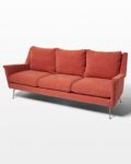 Front view thumbnail of Ojo Desert Coral Sofa