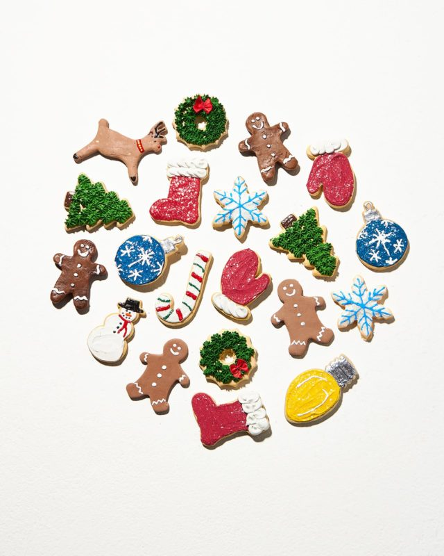 Front view of Festive Faux Cookie Assortment