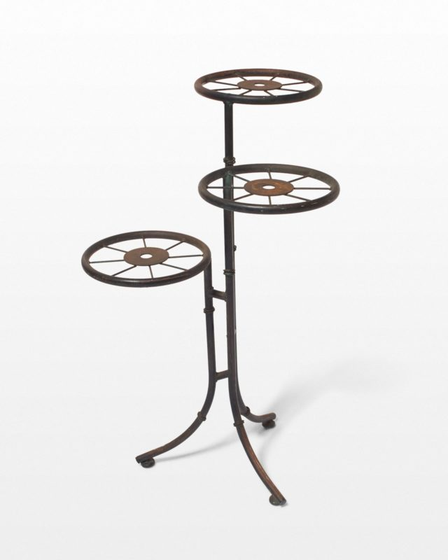 Front view of Rounder Plant Stand