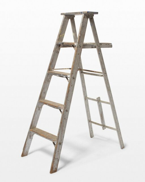 Front view of 5 1/2 Foot Newell Ladder