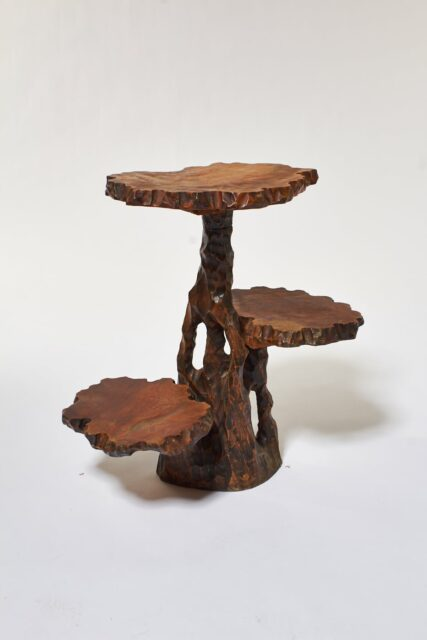 Alternate view 3 of Joi Carved Branch Pedestal Stand