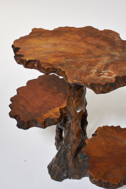 Alternate view 1 of Joi Carved Branch Pedestal Stand