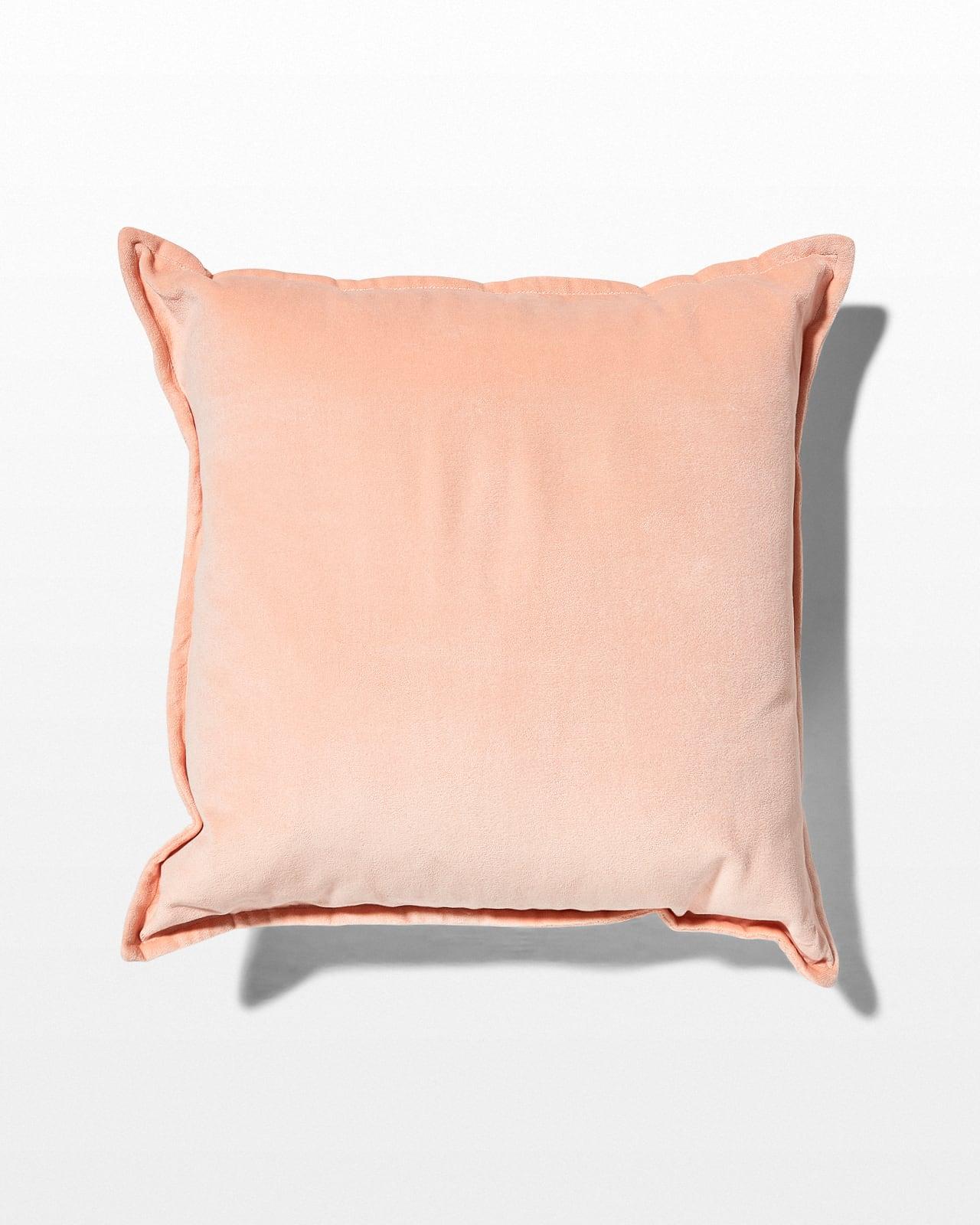 Pw002 Ana Blush Pink Velvet Pillow Prop Rental Acme Brooklyn