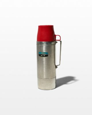 Front view of Fremont Aluminum Thermos