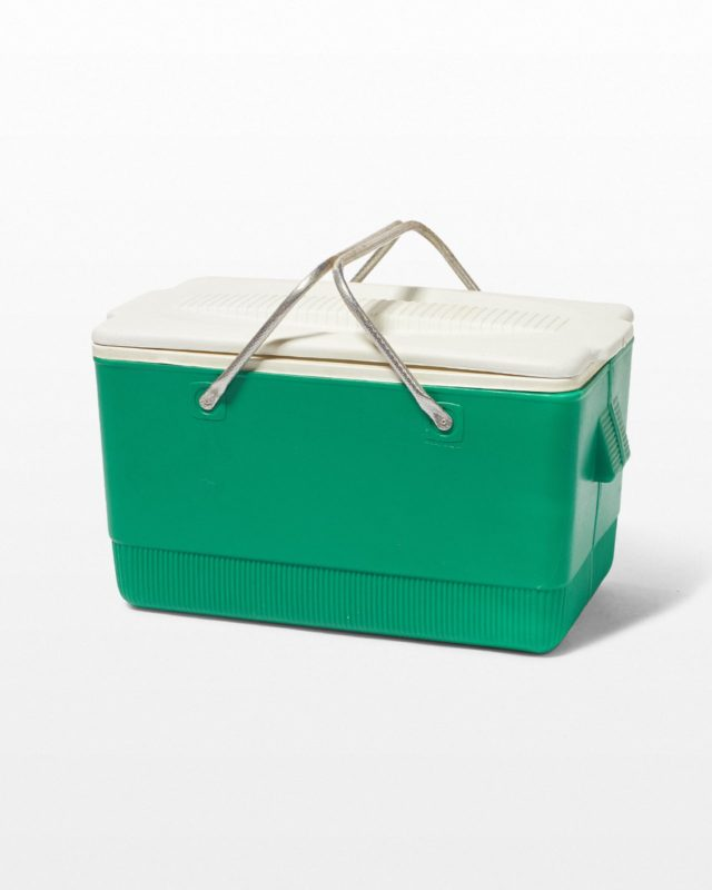 Front view of Tank Green Cooler