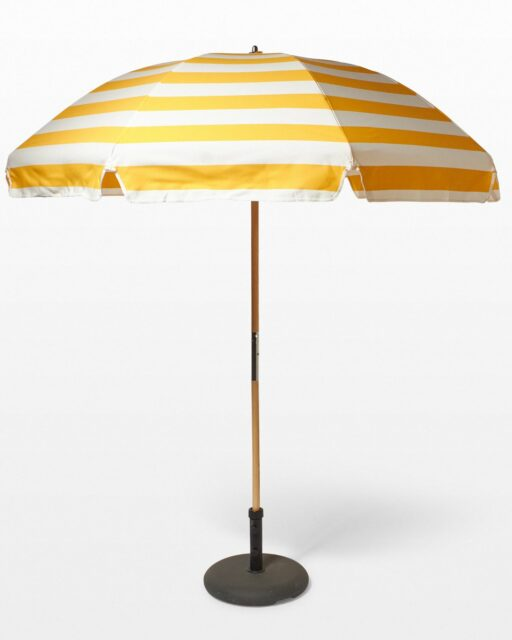 Front view of Sunbeam Beach Umbrella
