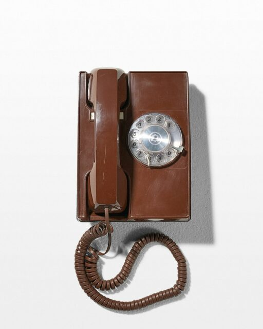 Front view of Ring Rotary Wall Phone
